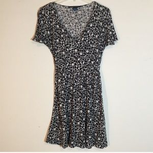 Animal Print Fit and Flare French Connection Dress